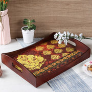 Latest Collection of Wooden Tray Set in India | Wooden Street