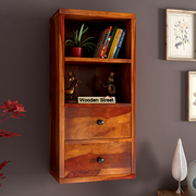 Get Best Quality Wooden Wall Cabinets Online in India - Wooden Street