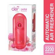 Godrej aer matic,  automatic air freshener kit with flexi control petal