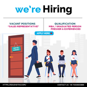 We are looking for indepedeny Sales Consultants