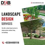 Top Landscape design services in Lahore | DXB Interiors