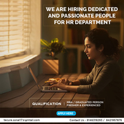 need a person for HR Department