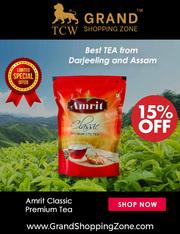 Grand Shopping Zone Beverages   Amrit Classic Premium Tea - 1 Kg