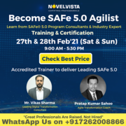 Leading SAFe® 5.0 (SAFe Agilist) Training & Certification Program