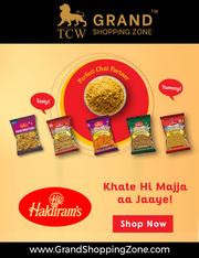 Grand Shopping Zone Snacks | Haldiram's Salted Peanut - 200 g