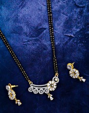 Buy Short Mangalsutra Designs at the Best Price by Anuradha