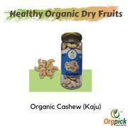 Buy Organic Cashewnut/Kaju Bottle Online