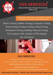 Plastic,  Rubber, Composite,  Metals Testing Lab in India