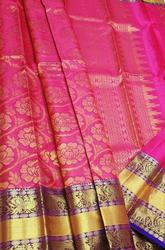Shop Kanjivaram Silk Saree Online | Luxurionworld.