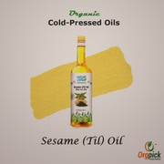 Shop Organic Sesame Oil Online at Orgpick