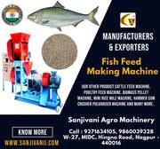 MANUFACTURER & EXPORTER OF FISH FEED MAKING MACHINE