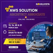 AWS Solution Architect Certification Cost-Learn More And Get Upto 30%