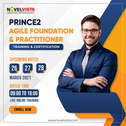 Prince2 Agile Foundation Course-Register For Training Now/Hurry Up