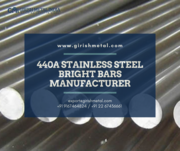 Buy 440 A Stainless Steel Round Bars