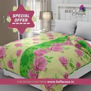 Buy Bellacasa Premium Bedsheet | Home Furnishing