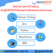 Software Testing,  Python,  Data Science,  course in Kandivali| QUASTECH