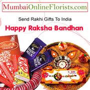 Order Amazing Rakhi Gifts to Mumbai at a Low Price-Free Shipping
