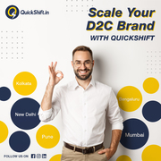 Scale Your D2C Brand With Quickshift Fulfillment Services