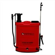Battery operated knapsack sprayer