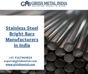 Buy High Quality Stainless Steel Bright Bars in India