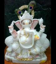 Makrana Marble Ganesh Moorti