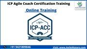 Agile Coaching Certification Training.