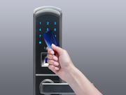 Filip Smart Door Lock with Fingerprint,  RFID,  PIN Access,  Black