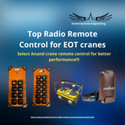 Best crane remote control in Mumbai- Anand Systems Engineering Private