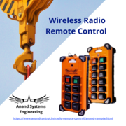 Radio remote control supplier in Mumbai- Anand Systems Engineering