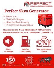 5kva Generator price|5kva Generator price  in india