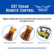 Eot Crane Radio Remote Control